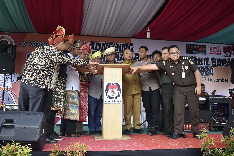 Launching Pemilihan Bupati dan Wakil Bupati Serdang Bedagai tahun 2020